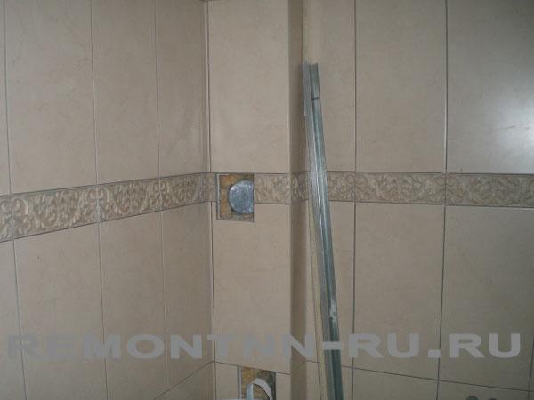 Перегородка из гипсокартона в туалете 3